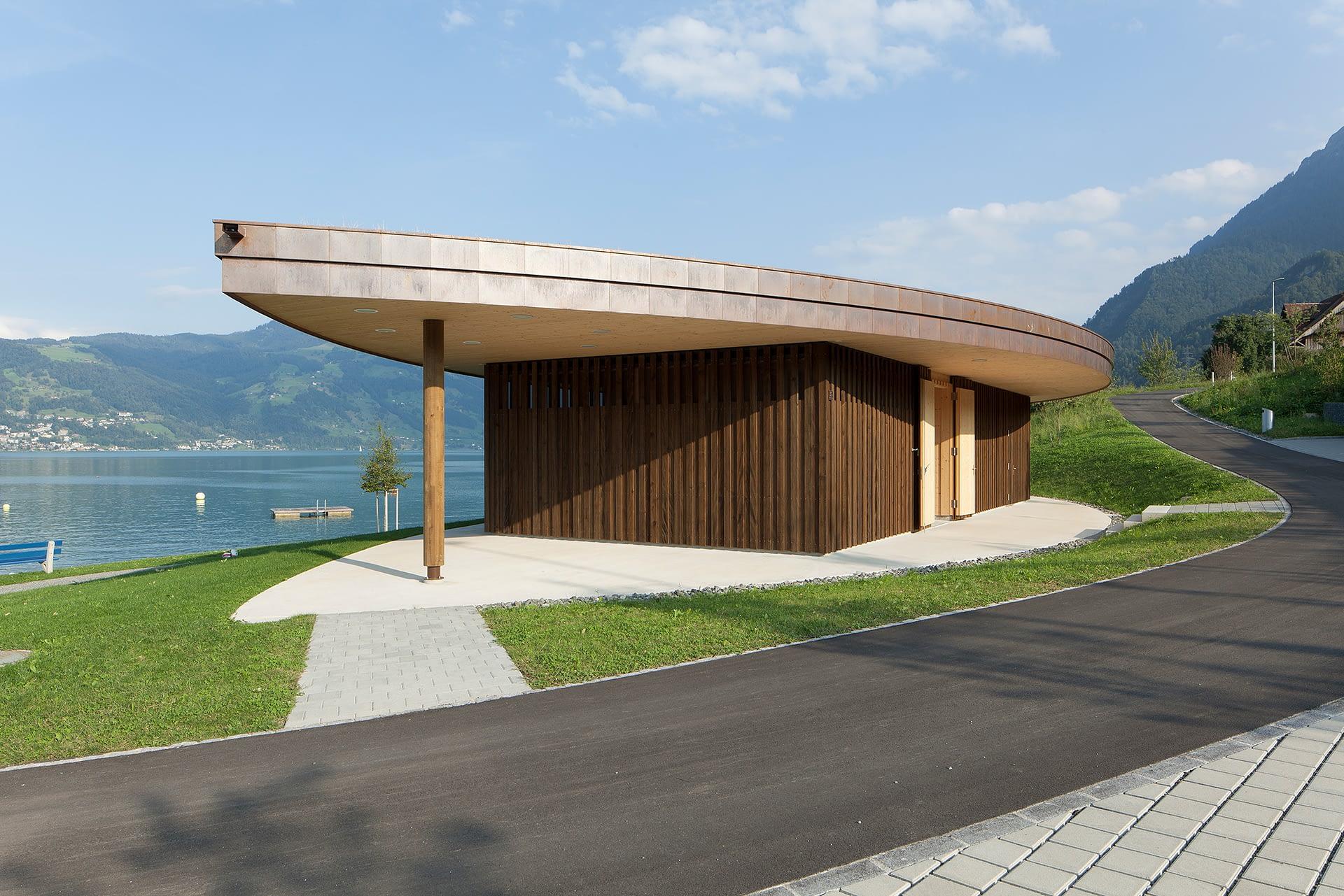 6405 Immensee Neubau hwp Architekten Freizeitanlage