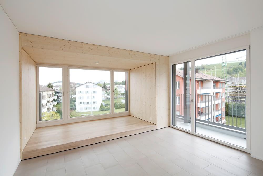 6403 Küssnacht am Rigi Umbau hwp Architekten Mehrfamilien- und Gewerbehaushaus