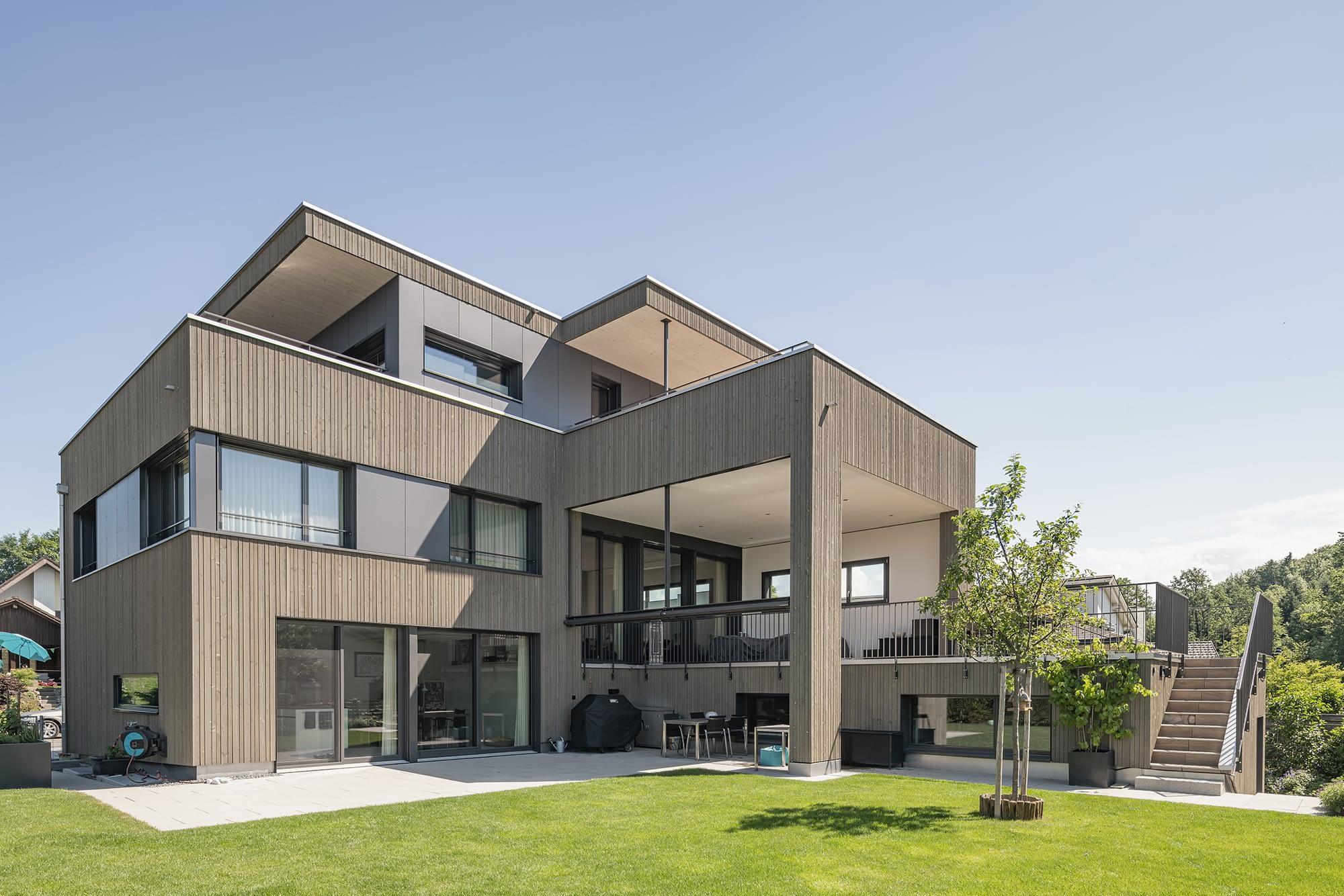 6332 Hagendorn hwp Architekten Neubau Einfamilienhaus
